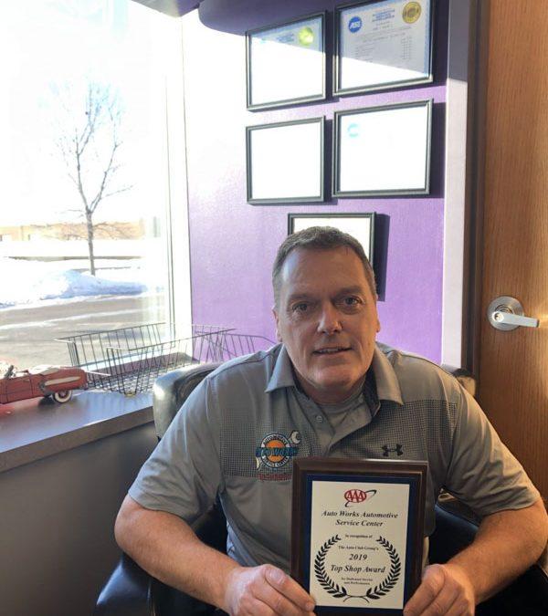 AAA Top Shop Award 2019